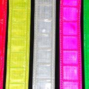 Reflexfärger: röd, gul, vit, rosa, grön